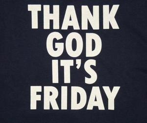 friday and text image