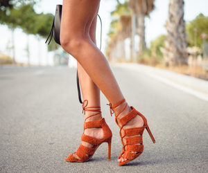 fashion, high heels, and sandals image