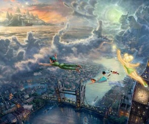 peter pan, disney, and london image
