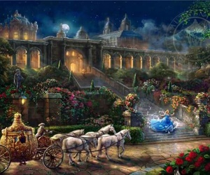 cinderella, disney, and magic image