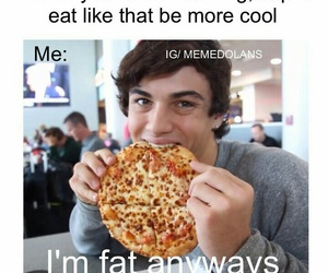 funny, pizza, and grayson dolan image