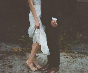 couple, wedding, and photography image