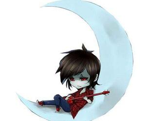 moon, night, and vampire image