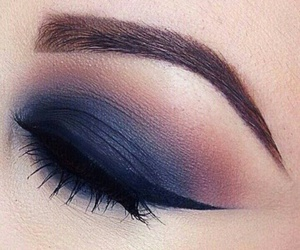 eyes, makeup, and ombre image