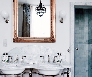 apartment, bathroom, and fashion image