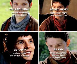 colin morgan, merlin, and quotes image