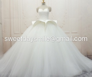 bride, fashion, and gorgeous image