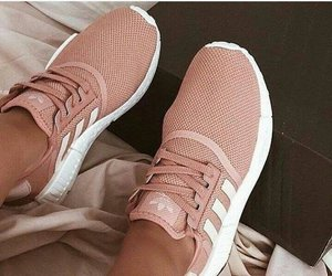shoes, adidas, and YES! image