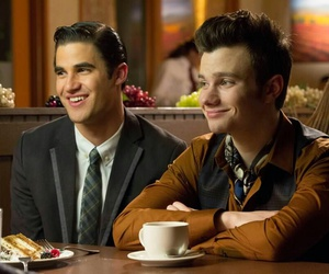 klaine, glee, and darren criss image