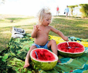 beach, coconuts, and hawaii image