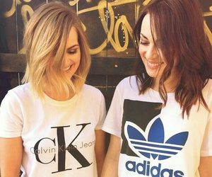 adidas, Calvin Klein, and girls image