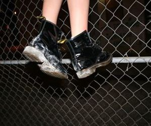 grunge, black, and boots image