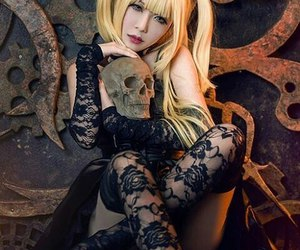 death note, misa amane, and cosplay image