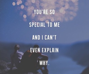 special, love, and quote image