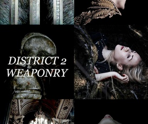 aesthetic, the hunger games, and district 2 image