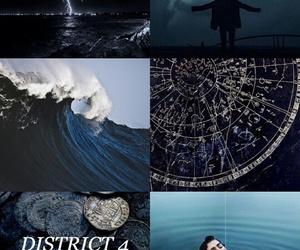 aesthetic, fishing, and the hunger games image