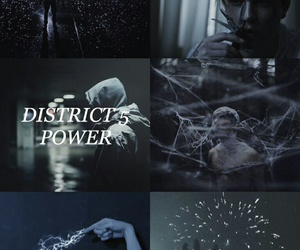the hunger games and district 5 image
