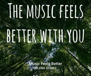 Lyrics, music, and selena gomez image