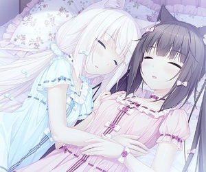 anime, blush, and manga image