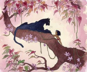 art, disney, and the jungle book image