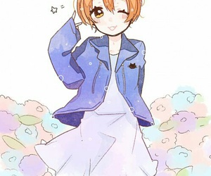 love live and rin hoshizora image
