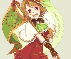 anime girl, school idol project, and hanayo koizumi image