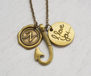 etsy, long necklace, and fathers day gift image