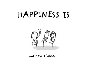 happiness, phone, and صور  image