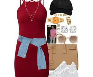 fashion, school clothes, and outfits image