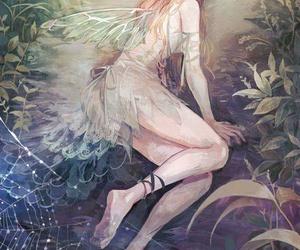 fairy, anime, and girl image