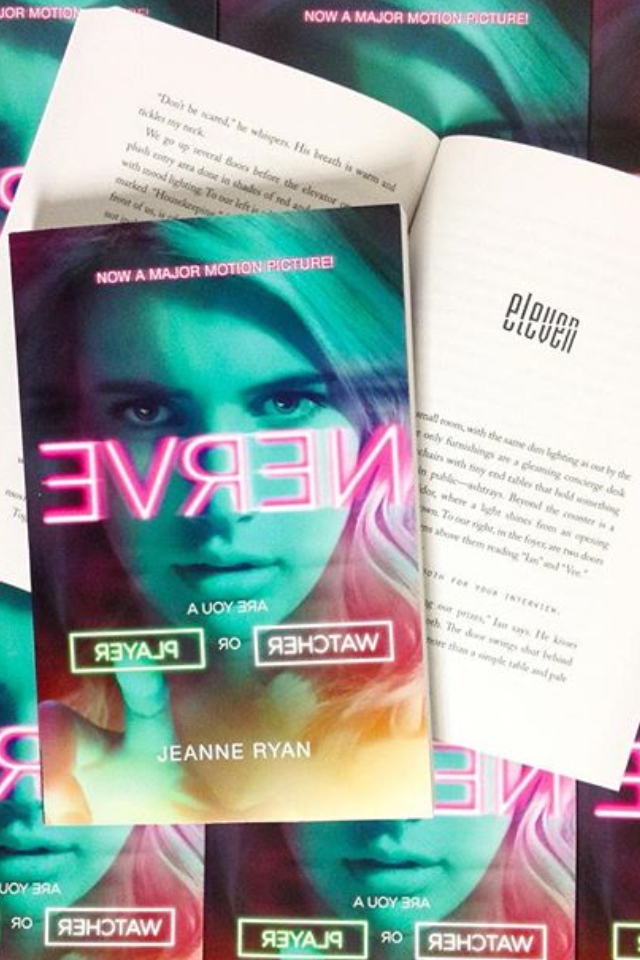 book, movie, and nerve image