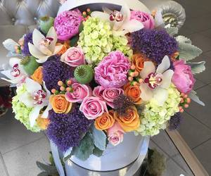 bouquet, chic, and roses image