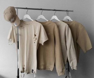 beige and clothes image