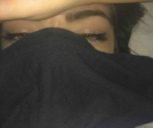black, grunge, and eyes image