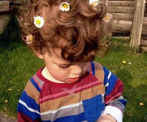baby, boy, and curly image