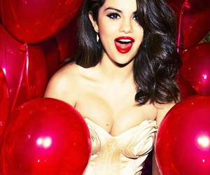 selena gomez and red image