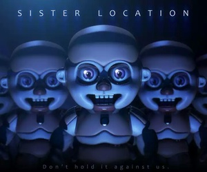 fnaf, sister location, and five nights at freddy's image