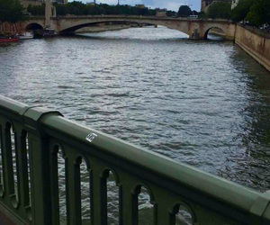 paris, pont, and Seine image