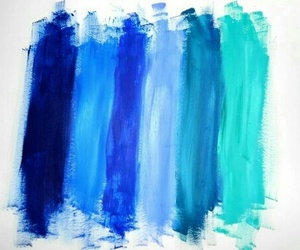 blue, colors, and paint image