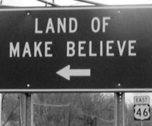 believe, black and white, and land image