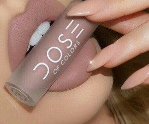cosmetic, lips, and cute image