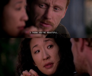 cristina yang, owen hunt, and grey's anatomy image