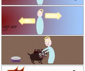 comic art, comics, and dogs image