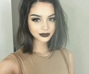 beauty, hair, and short image