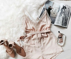 cream, fashion, and girly image