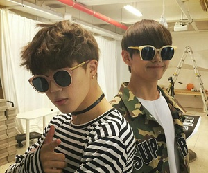 couple, k-pop, and bts image