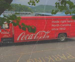cocacola, truck, and tumblr image