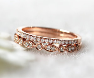 diamond, ring, and tumblr image
