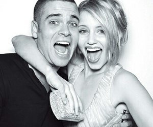 glee, mark salling, and dianna agron image