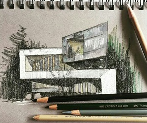 architecture and sketch image